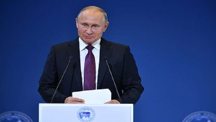 بوتين: صوت روسيا سيدوّي في المستقبل لائقًا وواثقًا