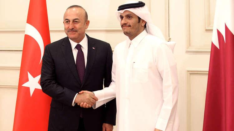 قطر وتركيا: نسعى لتعزيز العلاقات لمواجهة