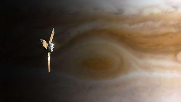 هدوء غريب في مركز أضخم عواصف المجموعة الشمسية