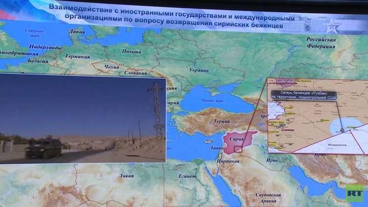 موسكو: الوضع في مخيم الركبان كارثي