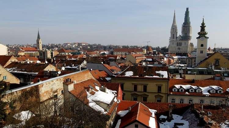 مدينة زغرب عاصمة كرواتيا