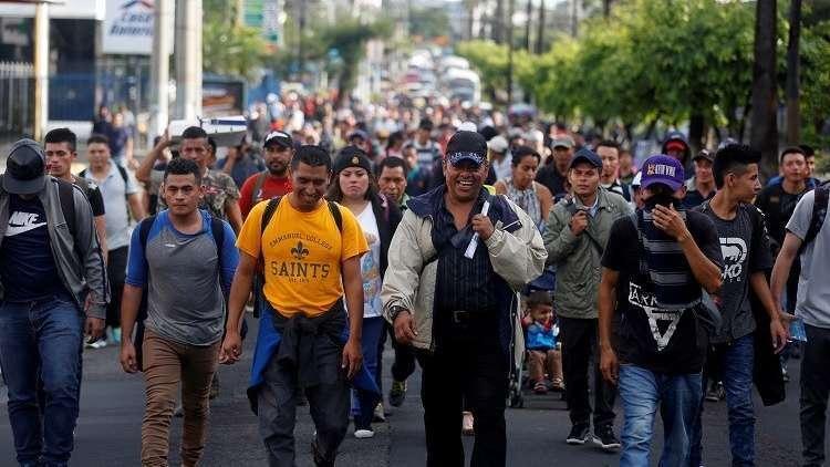وصول 5500 مهاجر إلى مكسيكو قاصدين الحدود الأمريكية