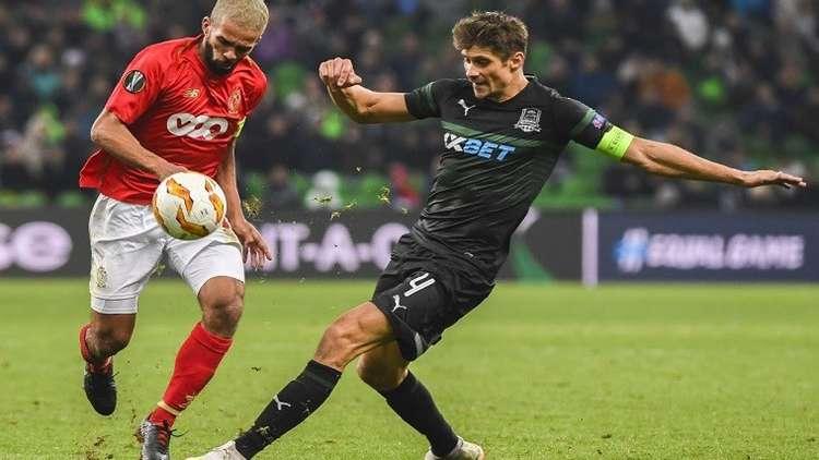 كراسنودار يسقط ستاندرليغ البلجيكي في الدوري الأوروبي