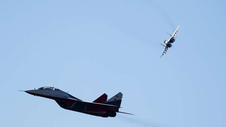 المقاتلات الروسية انطلقت 4 مرات لاعتراض طائرات أجنبية