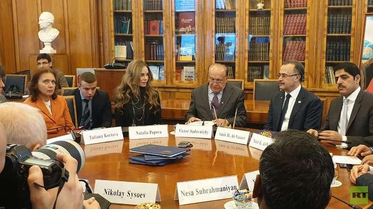 توقيع مذكرة بين أعرق الجامعات الروسية وأرامكو السعودية (صور)