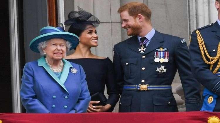 ما الذي دفع الملكة للتدخل وتحذير هاري من