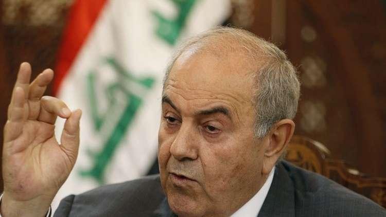 علاوي يدعو لإنصاف محافظة نينوى
