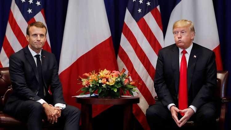 ترامب مستاء من تصريحات ماكرون حول تشكيل جيش أوروبي
