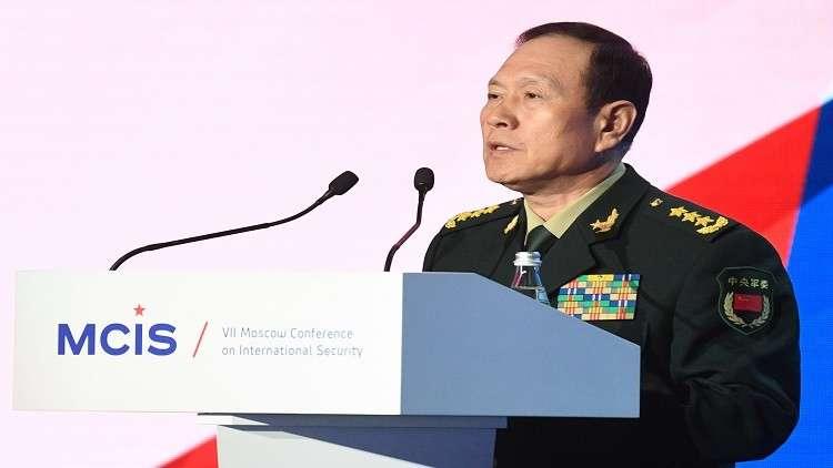وزير الدفاع الصيني: سندافع عن أراضينا مهما كان الثمن