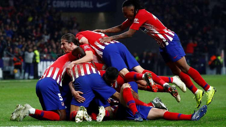 أتلتيكو مدريد يخطف فوزا صعبا من أتلتيك بيلباو في