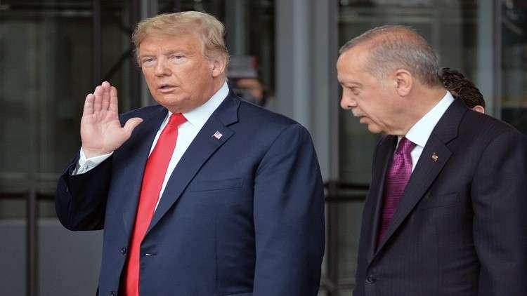 ترامب وأردوغان يبحثان قضية خاشقجي في باريس