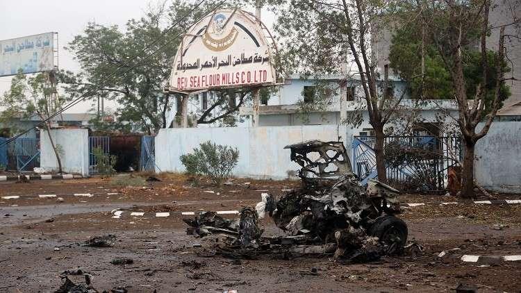التحالف العربي يستأنف غاراته على الحديدة في اليمن