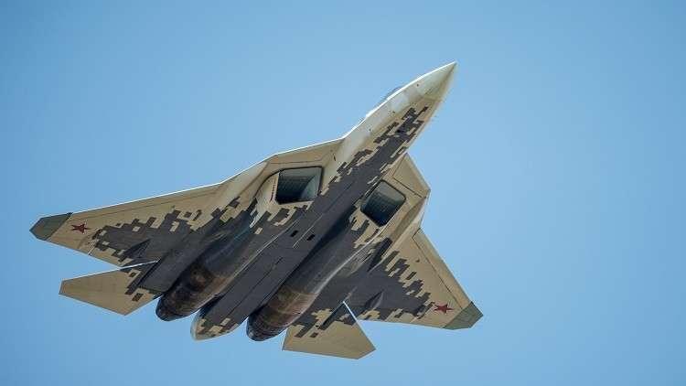 """روسيا تحول مقاتلة """"سو-57"""" الحديثة لوحش طائر بـ30 عين 5bec4b0595a59743288b4571"""