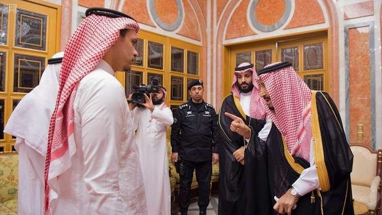 نجل خاشقجي يصادق على تكذيب خالد بن سلمان لـ