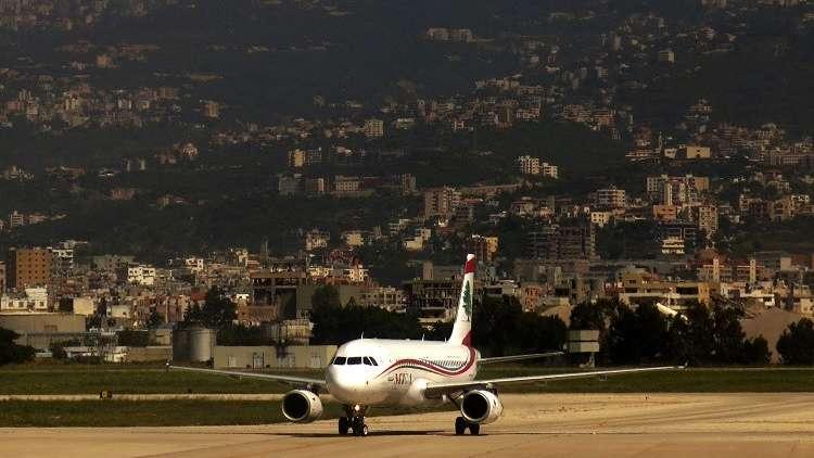 أرشيف - مطار رفيق الحريري الدولي في بيروت، 11 أبريل 2014
