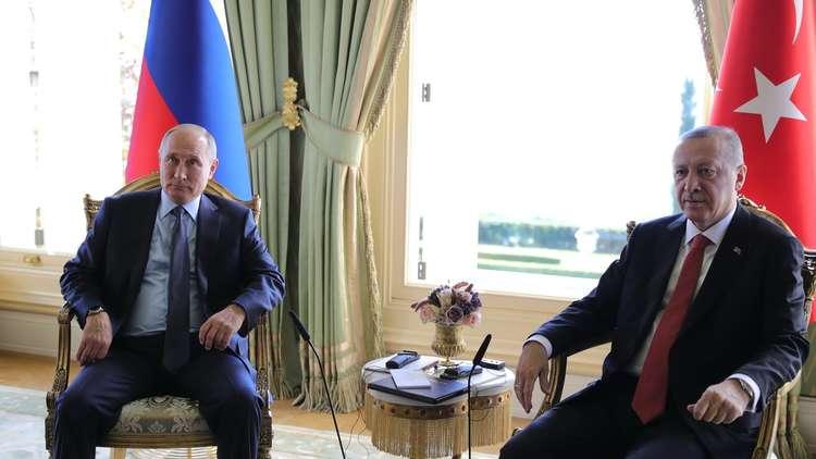 بوتين وأردوغان يناقشان في اسطنبول العلاقات الثنائية والقضايا الدولية