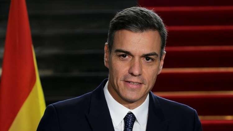 رئيس الوزراء الإسباني بدرو سانشيز