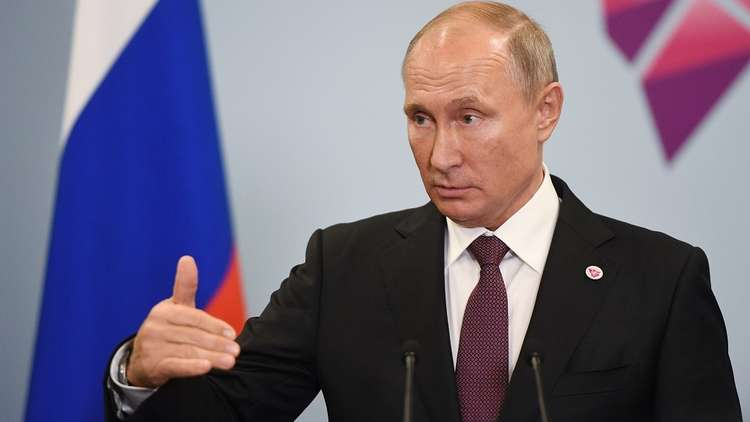 بوتين: انسحاب الولايات المتحدة من معاهدة الصواريخ لن يبقى دون رد من روسيا