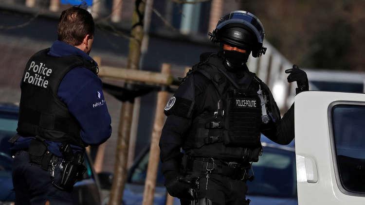 إصابة ضابط شرطة بعد طعنه من قبل مجهول في بروكسل