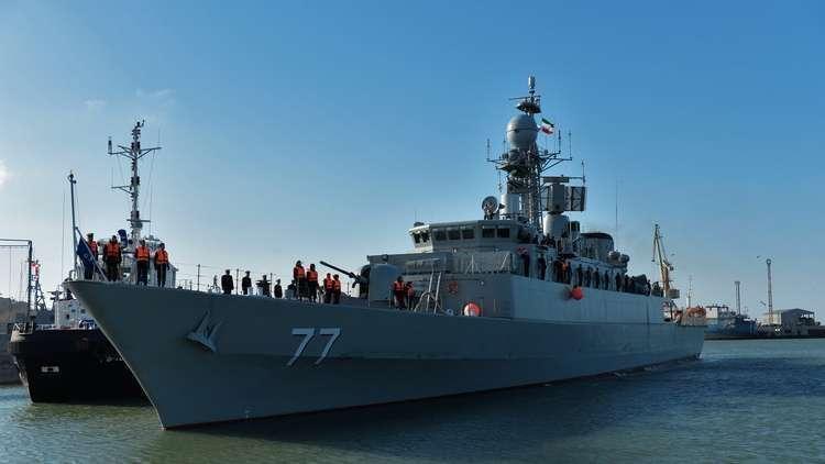 طهران تخطط لإرسال أسطولها الحربي إلى مقر الأسطول الأمريكي السادس