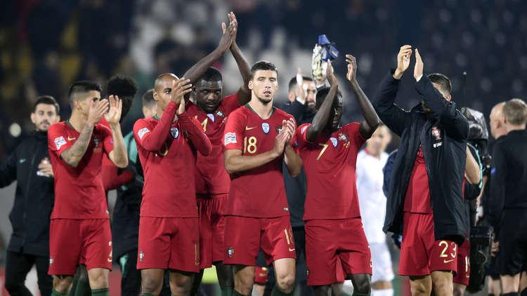 البرتغال تتعادل مع بولندا في دوري الأمم الأوروبية