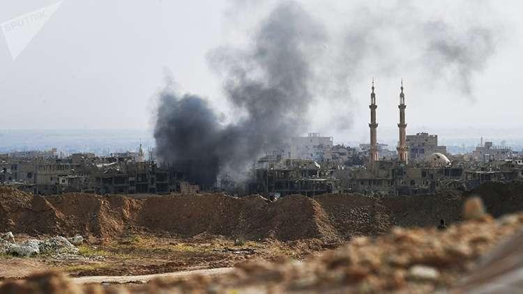 مراسلنا: التحالف الدولي يستهدف بلدة هجين بمحافظة دير الزور شرق سورية بالفوسفور الأبيض