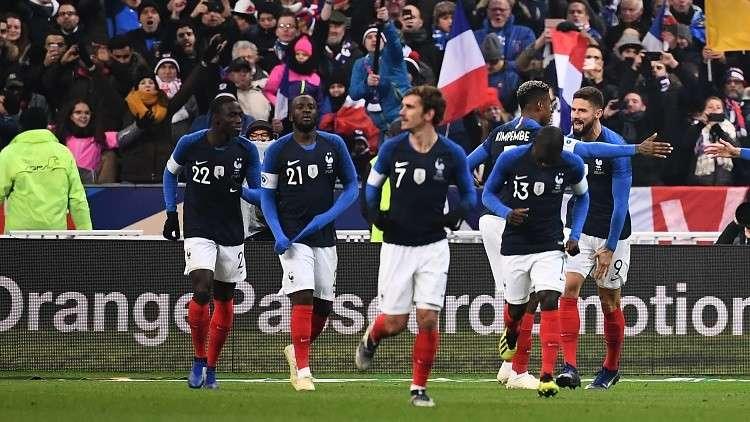 فرنسا تستعيد نغمة الانتصارات وتخسر خدمات مبابي