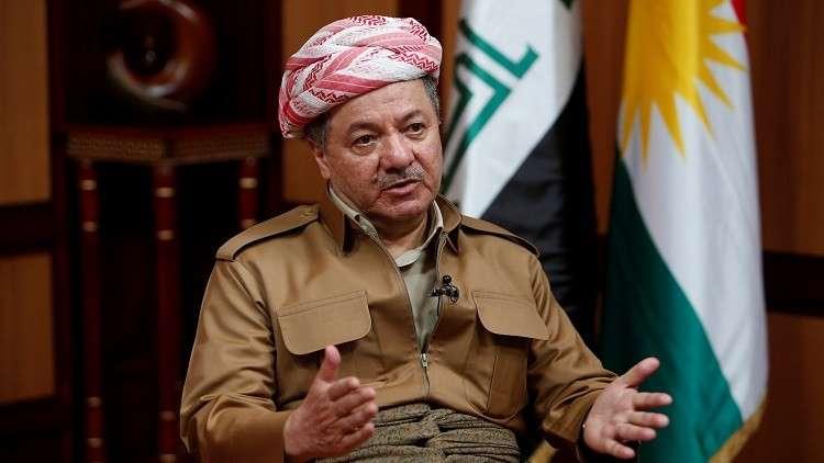 زعيم الحزب الديمقراطي الكردستاني في العراق مسعود بارزاني