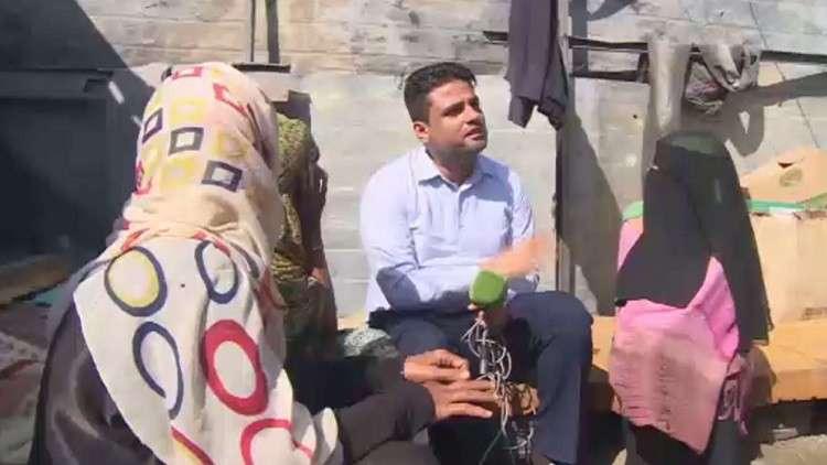 تفاقم أوضاع النازحين في اليمن