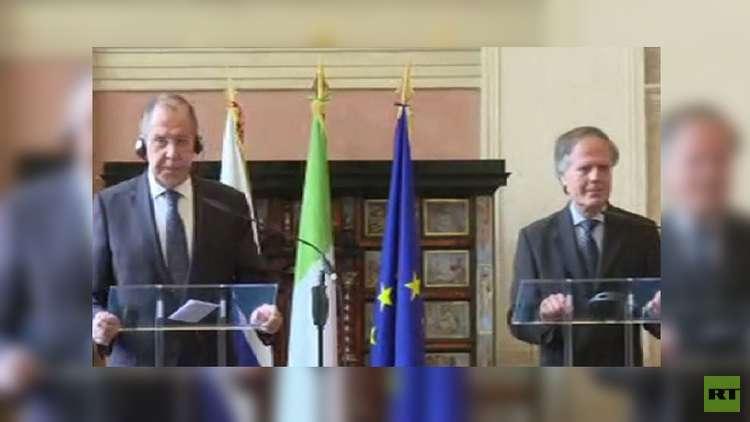 لافروف: تحديد مواعيد نهائية مصطنعة لمرحلة معينة في العملية السياسية الليبية يأتي بنتائج عكسية