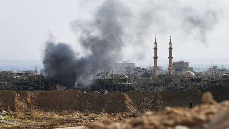 مقتل 20 مدنيا في غارة للتحالف الدولي على بلدة هجين بريف دير الزور