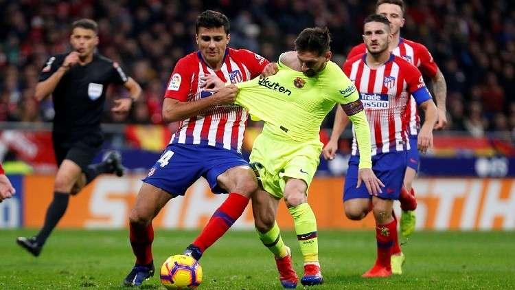 نتيجة بحث الصور عن مباراة برشلونة واتلتيكو مدريد