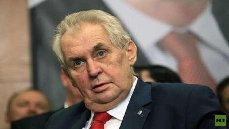 رئيس التشيك المتحمس لنقل سفارة بلاده إلى القدس يبدأ زيارة رسمية لإسرائيل