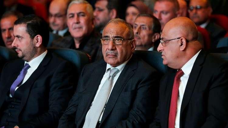 عبد المهدي يبلغ الحلبوسي بأسماء المرشحين للوزارات الشاغرة في العراق