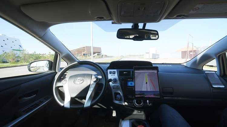 روسيا تختبر السيارات ذاتية القيادة على الطرق العامة