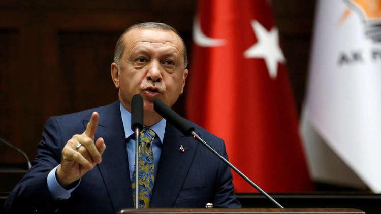 أردوغان: مخطط لإعادة رسم المنطقة بدءا بسوريا وحتى اليمن والعراق وفلسطين