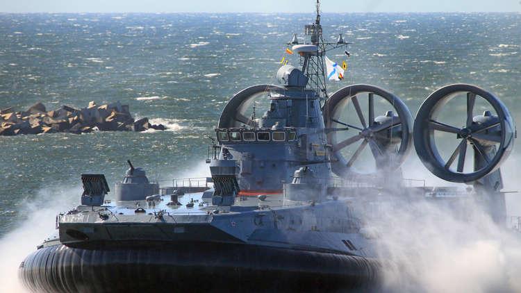 السفينة البرمائية الحربية الروسية