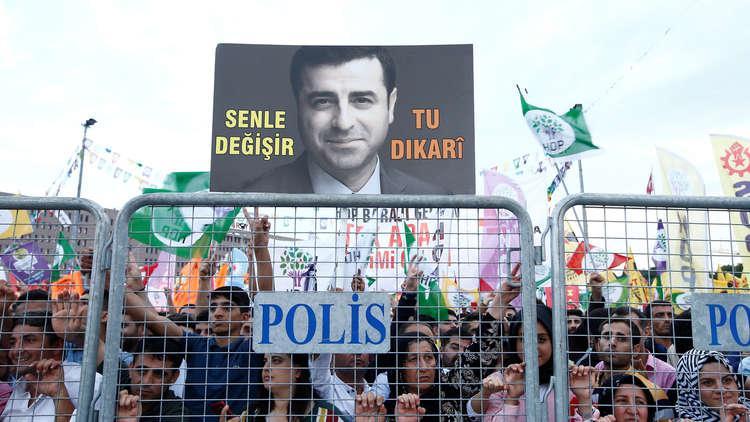 القضاء التركي يقرر تمديد اعتقال دميرطاش