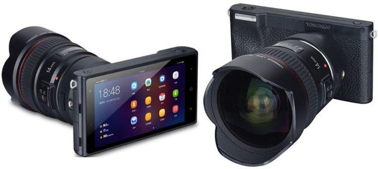 كاميرا تحمل مواصفات هاتف بنظام أندرويد