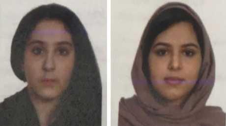 الصورة الجديدة التي نشرتها الشرطة الأمريكية للشقيقتين
