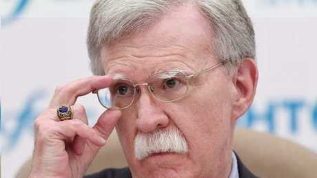 مستشار الرئيس الأمريكي لشؤون الأمن القومي، جون بولتون