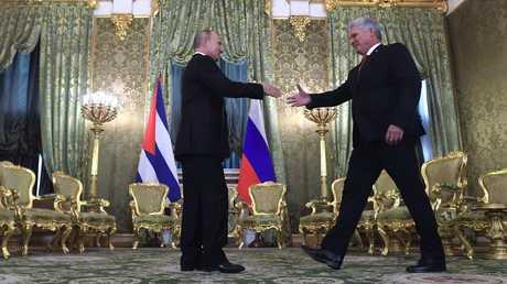 روسيا وكوبا تتفقان على تعميق العلاقات وتعزيز شراكتهما الاستراتيجية
