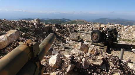 موقع للجيش السوري بريف اللاذقية