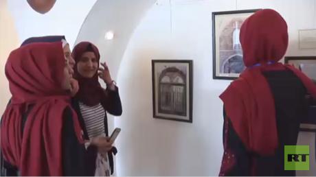 معرض فوتوغرافي لأهم الآثار في غزة