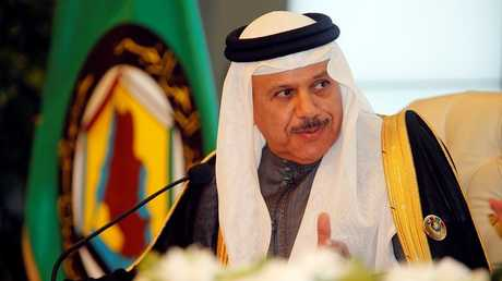 الأمين العام لمجلس التعاون الخليجي عبد اللطيف بن راشد الزياني