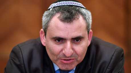 وزير شؤون القدس والبيئة والتراث الثقافي الإسرائيلي، زيف إلكين