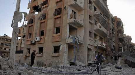 مخيم اليرموك. صورة من الأرشيف