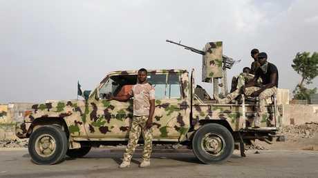 جنود من الجيش النيجيري