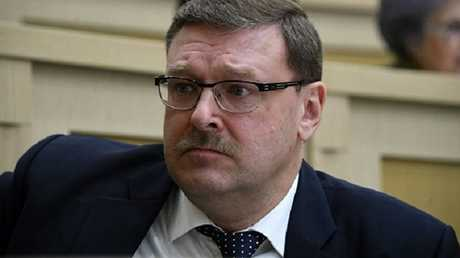 قسطنطين كوساتشوف رئيس اللجنة الدولية بمجلس الاتحاد الروسي