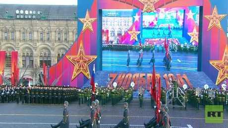 إحياء استعراض موسكو التاريخي عام 1941